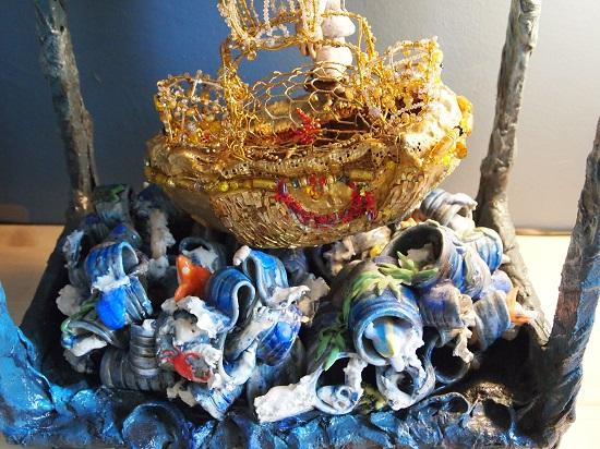Laëtitia Ambroselli, artiste en mosaïque contemporaine, Arche de Noe